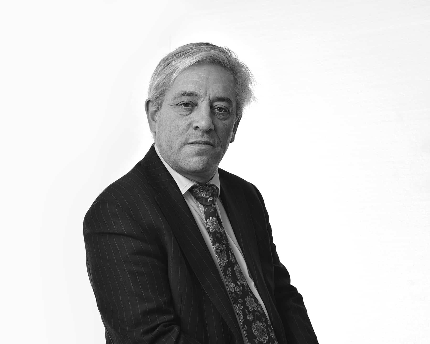 the right honourable john bercow mp - speaker of the house of